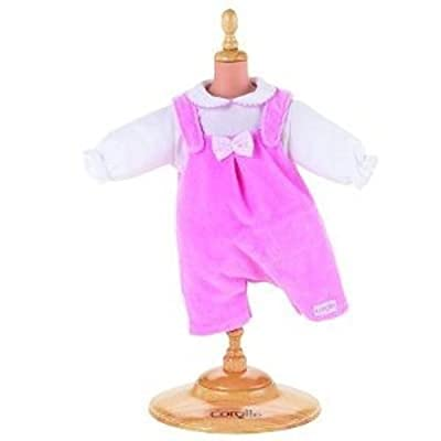 Corolle W0109 - Conjunto de peto rosa para muñecas de 42 cm por Corolle