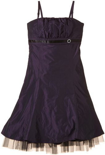 G.O.L. Mädchen Kleid Taft-Ballkleid, Gr. 176, Violett (lila 7)