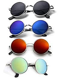 d47b8c7673e Amazon.in  Round - Sunglasses  Clothing   Accessories