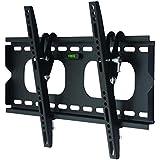 """Soporte de pared para TV / monitor en negro inclinable 12° para Samsung 40"""" UE40H5000AW"""