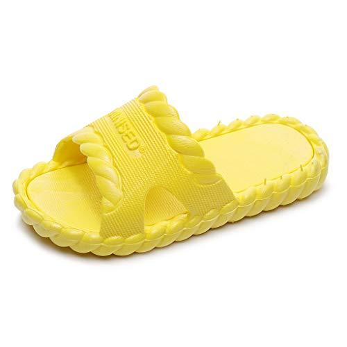 Mymyguoe Babyschuhe Hausschuhe Unisex Kinder Mädchen Jungen Helle Farbe Rutschfest Pantoletten Clogs Kinderschuhe Leicht Strand Slipper Sandalen weichen Sohlen Badeschuhe Gartenschuhe Latschen