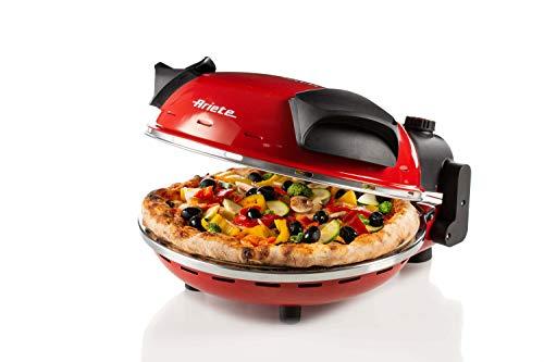 Ariete 909 Pizza in 4 Minuti Forno, 1200 W, Rosso