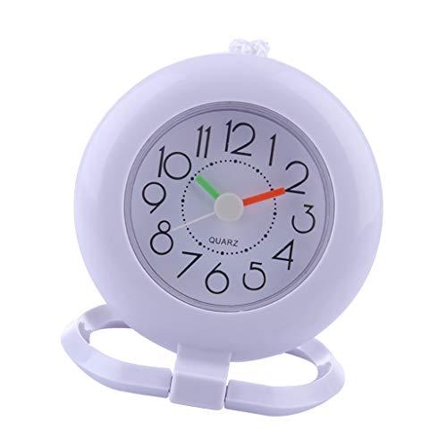 B Blesiya Reloj Pared Anillo Toalla Ropa Armario Baño