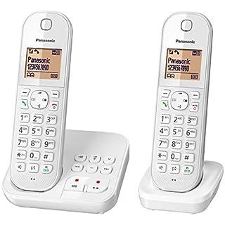 Panasonic KX-TGC 422 GW, schnurloses Telefon mit Anrufbeantworter und Zusatz-Set