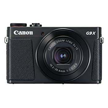 "Canon PowerShot G9 X Mark II - Cámara compacta de 20.9 MP (Pantalla táctil de 3"", vídeo Full HD, CMOS, Intelligent IS, Digic 7, Bluetooth) Negro"