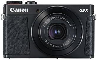 Canon PowerShot G9 X Mark II Kompaktkamera (20,1 Megapixel, 7,5 cm (3 Zoll) Display, WLAN, NFC, 1080p, Full HD) Schwarz