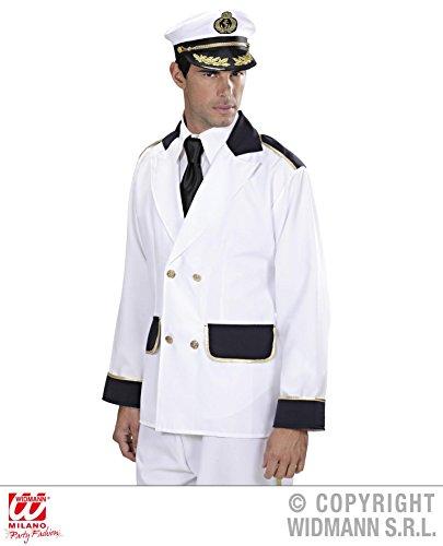 Kostüm Sailor Für Girl Frauen (JACKE - KAPITÄN - Größe 50 (M), Marine Uniform Seemann Sailor Kostüme)