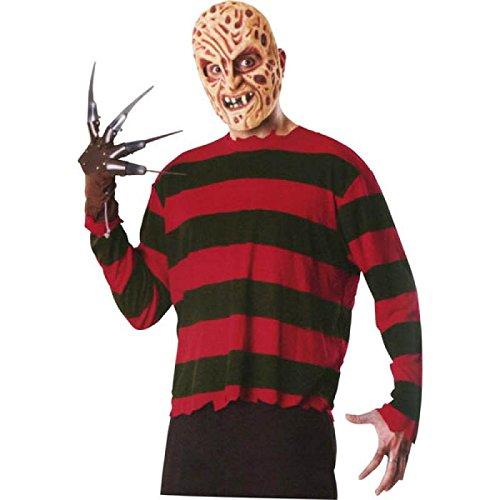 Rubie's 3 17059 - Freddy Krueger Blisterset Kostüm, Größe M/L