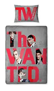 Character World 135 x 200 cmThe Wanted Forever Single Panel Duvet Set