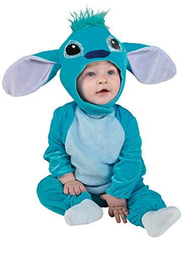 chiber Disfraces Baby-Monster Kostüm Blau (6-12