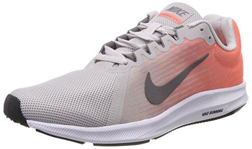 Nike Downshifter 8, Zapatillas de Running para Mujer, Gris (Vast Grey/Gunsmoke-Crimson Pulse-Black 008), 40 EU