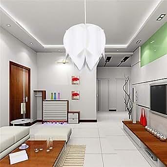 makenier uk moderne lotus pendelleuchte 220v besten f r wohnzimmer beleuchtung. Black Bedroom Furniture Sets. Home Design Ideas