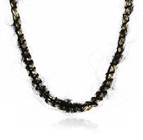 Unbekannt Cocoon-SZ60546809 Scooter Damen-Halskette vergoldetes Metall Topf-Link