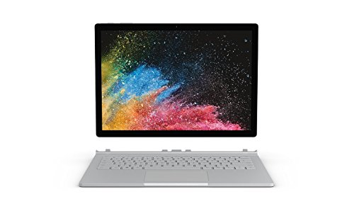 "Microsoft Surface Book 2 Notebook Convertibile da 15"", i7-8650U, 16 GB, SDD 1 TB, NVIDIA GeForce, Platino [Layout Italiano]"