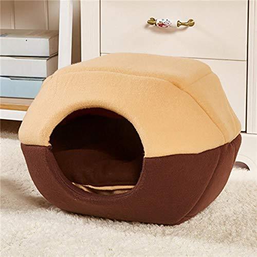 Sizwea Invierno cálido Perro Mascota Gato Cama cómoda