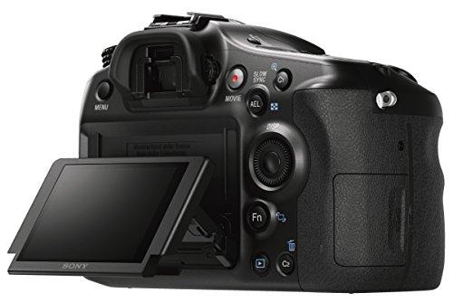 Sony Alpha 68 - Cámara con montura tipo A (sensor CMOS Exmor APS-C de 24 MP, lente 18-55 mm, procesador BIONZ X, enfoque automático, pantalla LCD inclinable)