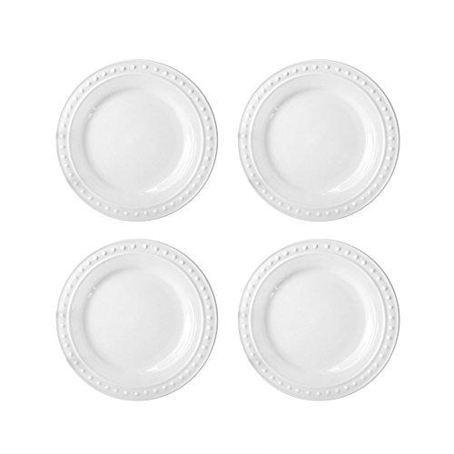 Monique Salad Plates, White ()