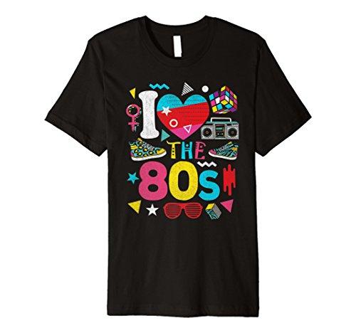 80er Jahre I Love The 80s Shirt–80s Kleidung Damen und Herren