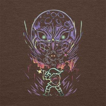 NERDO - Glowing Moon - Herren T-Shirt Braun