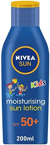 NIVEA, Sun, Lotion, Kids, Very High SPF50+, 200ml