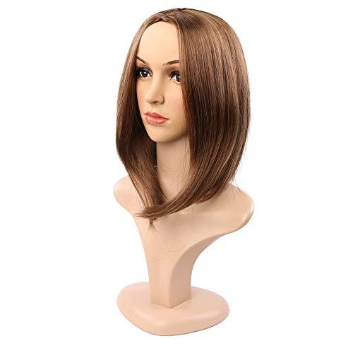 Fleurapance - Peluca pelo corto súper natural mujer