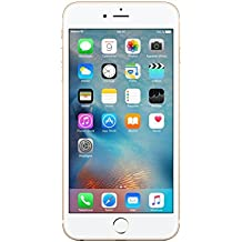 "Apple iPhone 6S Plus - Smartphone libre iOS, Pantalla 5.5"", 64 GB (Dual-Core 1.4 GHz, 2 GB de RAM, cámara de 12 MP), (Reacondicionado Certificado por Apple), Dorado (Gold)"