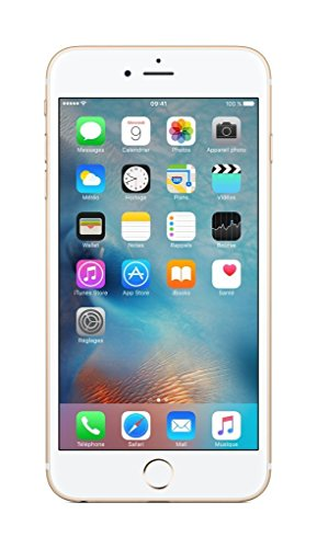"Apple iPhone 6S Plus - Smartphone libre de 64 GB (Pantalla 5.5"", Dual-Core 1.4 GHz, 2 GB de RAM, cámara de 12 MP), (Reacondicionado Certificado por Apple), Dorado (Gold)"