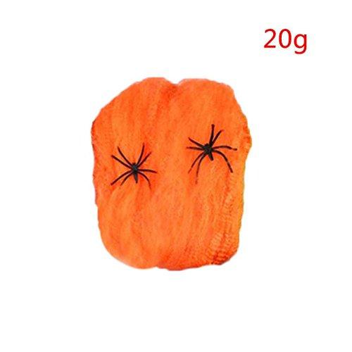 chy Spider Web Horror DIY Spinnennetz Stütze für Halloween Scary Party Szene Dekoration (Scary Halloween Party Dekoration Diy)