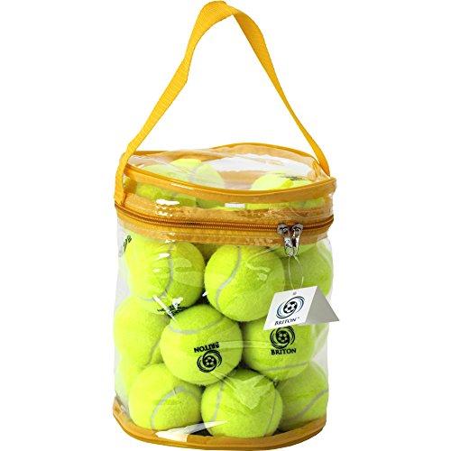 Briton Tennisbälle, druckreduzierend, mit Tragetasche, 24 Stück