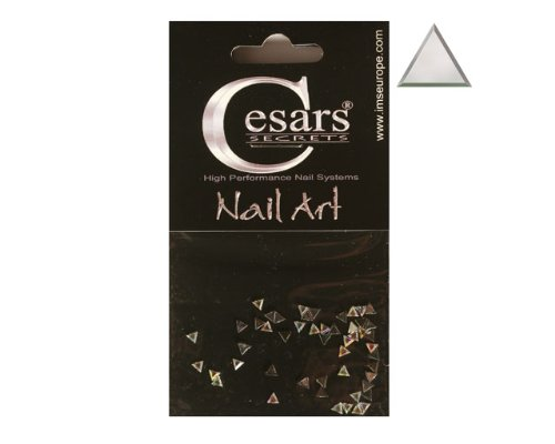 Cesars Nail Art Triangle arc en ciel