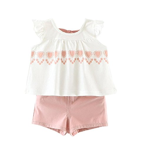 bekleidung-longra-kleinkind-kinder-baby-madchen-sommer-outfit-kleidung-baumwolle-weste-t-shirt-tops-