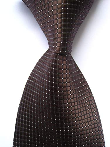 Grüne Gesponnene Krawatte (FDHFC Partei-Krawatte Der Männer Plaid Jacquard GesponneneKrawatten Männer Business Hochzeit Krawatten)