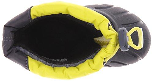 Bottes d'hiver Sorel enfants NY1799-380 Cubs Chartreuse Jaune charbon Chartreuse,Coal