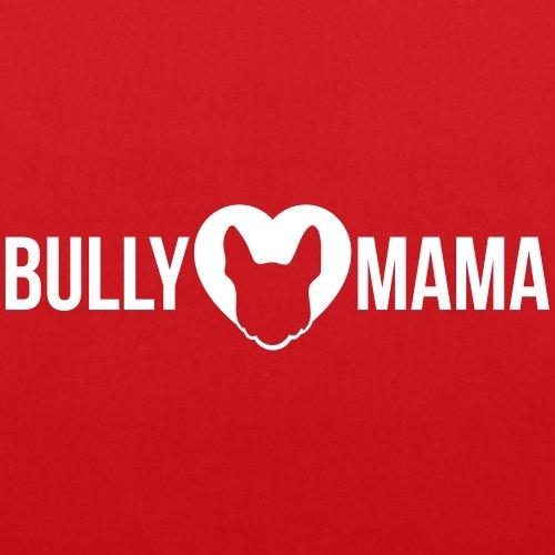 Bullymama Herz Französische Bulldogge Frenchie Stoffbeutel von Spreadshirt® Rot