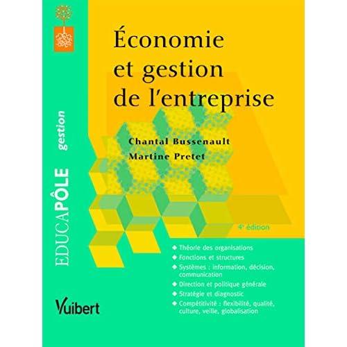 Economie et gestion de l'entreprise