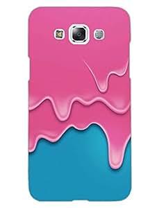 Samsung E7 Back Cover - Melting Ice Cream - Designer Printed Hard Shell Case