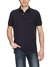 Tommy Hilfiger - Core - Polo - Uni - Homme - Bleu (Midnight)