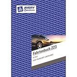 Avery Zweckform 10 x Formularbuch Fahrtenbuch A5 hoch VE=40 Blatt mit Ausfüllhilfe