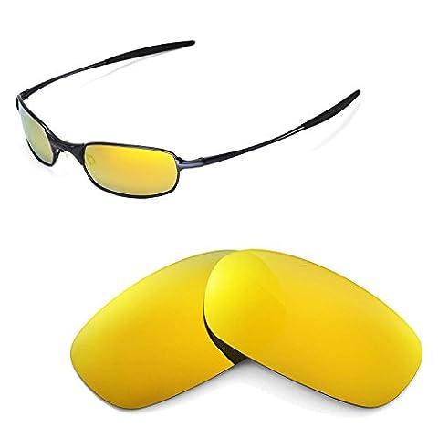 Walleva Ersatzgläser für Oakley Square Wire 2.0 Sonnenbrille - Mehrfache