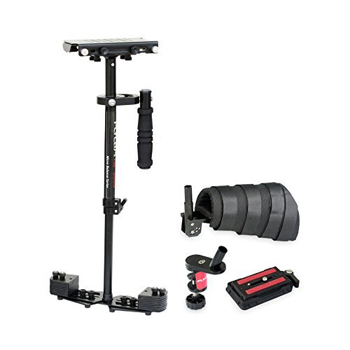 FLYCAM HD-3000 Steadycam with Arm Brace Supporting Cameras weighing upto 3.5kg/8lbs - FREE Table Clamp and Unico Quick Release Plate (FLCM-HD-3-AB-QT)