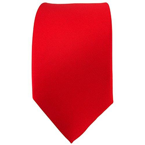 TigerTie - Cravate - Uni - Homme srouge