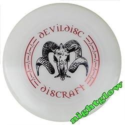 Frisbee Discraft Ultrastar 175g Devil Nightglow