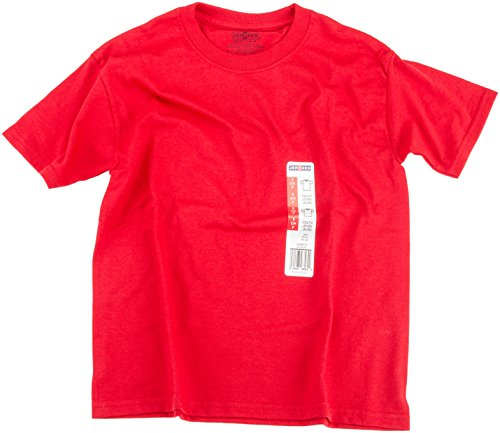 Jerzees Youth True Red Tee-Set, mehrfarbig, 28.44 X 17.78 x 1.77 cm (Red Jugend-true Tee)