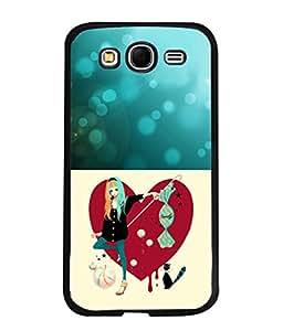 PrintVisa Designer Back Case Cover for Samsung Galaxy Grand I9082 :: Samsung Galaxy Grand Z I9082Z :: Samsung Galaxy Grand Duos I9080 I9082 (Cute Cat Love)