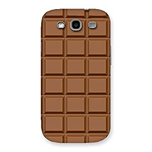 Special Classic Chocolate Back Case Cover for Galaxy S3