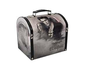 Twilight - Make-Up Box Eclipse Edward und Bella Vintage Style (in 21,6 cm x 17 cm, 9,5 cm)