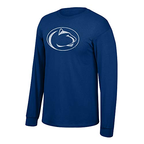 eLITe Fan Shop NCAA Long Sleeve T Shirt Team Vintage,Penn State Nittany Lions Navy,XX Large - Longsleeve Penn