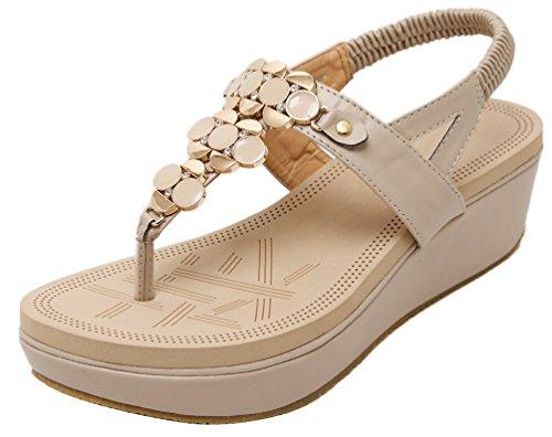 CFP - Scarpe con cinturino alla caviglia donna Beige