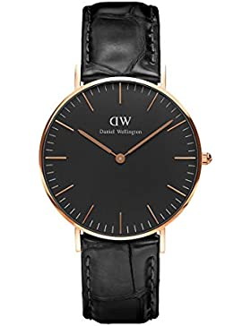Daniel Wellington Classic Damen-Armbanduhr Analog Quarz Leder - DW00100141