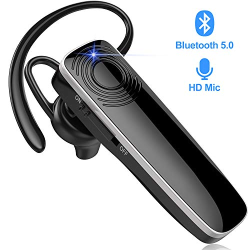 New Bee Bluetooth Headset Handy Ultraleichte kabellose In Ear Bluetooth Headset mit Stereo-Sound Freisprecheinrichtung für iPhone, iPad, Samsung, Huawei
